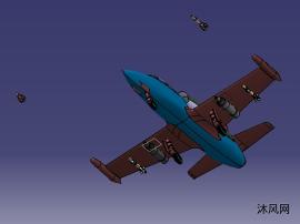 轻型训练作战飞机