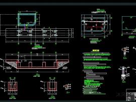 火车轨道土建设计施工cad图
