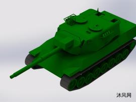 豹1A4坦克模型