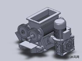 谷粒脱壳机设计模型