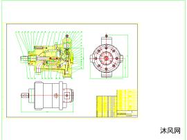 cad高压柱塞泵