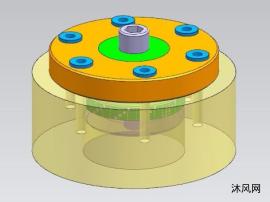 内涨式定位钻孔夹具