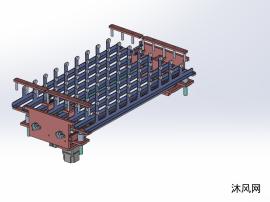 PCB收放板机传统整板机构