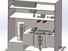 一种3D打印机三维模型