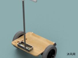 自制简易平衡车模型