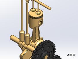 内燃机原理模型