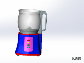 家用榨汁机机设计模型