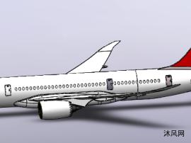 国产大飞机模型