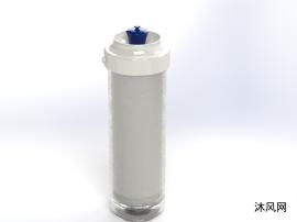 自带过滤的水瓶三维模型