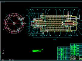 立式電主軸的結構設計