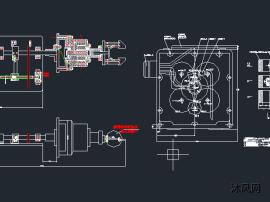 机械手自动上料攻丝机床组合设计