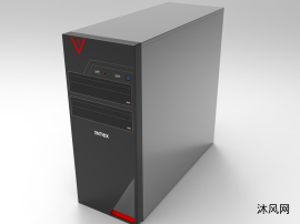 电脑主机箱三维模型
