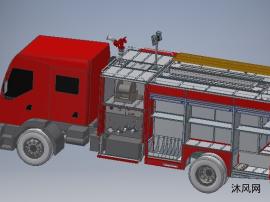 消防车模型图