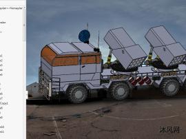 sw导弹发射车