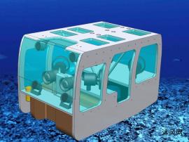 水下机器人模型设计