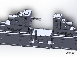 半轴壳体左右两面孔加工组合机床的总体设计