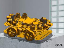 智能滅火小車模型