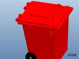 可移动垃圾桶