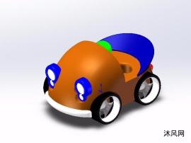儿童玩具车设计图