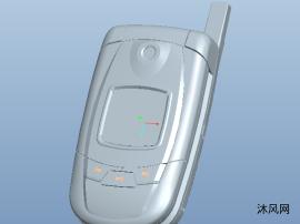 翻盖手机结构完整