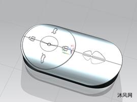 电动汽车遥控钥匙模型