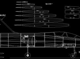 幻影2000涵道轻木飞机
