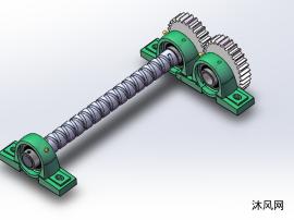 椭圆齿轮机构设计