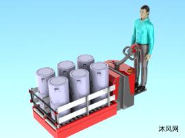 電動叉車模型圖