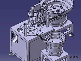 自动压盖机总图