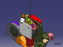 3D打印機打印頭