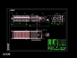 高效節能系列壓濾機設計圖