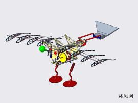机械小黄鸭的机械机构设计