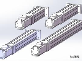 直线式HI65电动缸 共4种型号