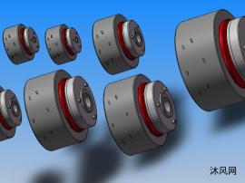 TLS-A型多片冲突扭矩限制器 共7种类型