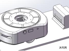 智能物流仓储AGV(二维码)
