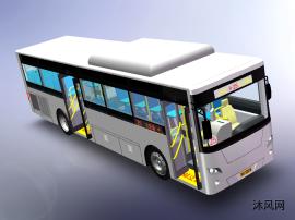 宇通公交车模型