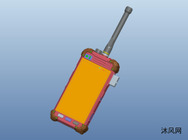 IPX7智能對講機殼體結構設計
