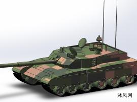 99式主戰坦克設計