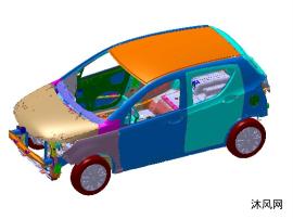 电动车车身+底盘+电池系统及动力