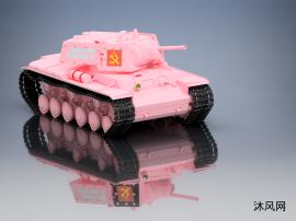 重型坦克模型設計