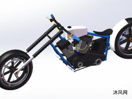 小型摩托车模型