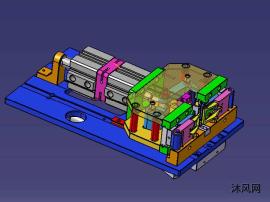 电线剥皮机模型