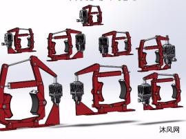 BYWZB系列隔爆型电力液压鼓式制动器模型