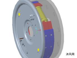 鼓式制动器设计图