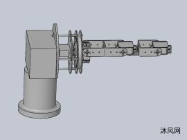 4自由度仿人机器手臂