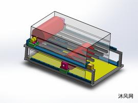 节水节电洗衣机设计模型