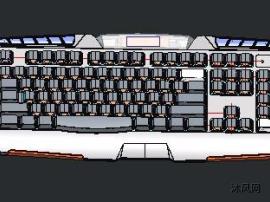 游戏发光键盘