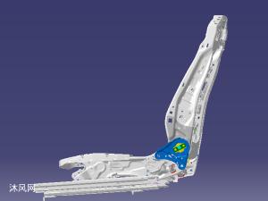轎車座椅骨架