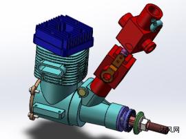 航模发动机设计图
