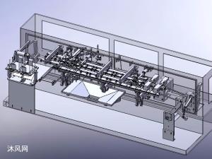 水平式双工位包装机